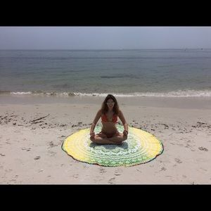 Other - 🏖beach yoga meditation picnic Suresh tapestry🏖🎁